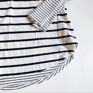 GAP Tops - GAP Black Striped Long Sleeve Top Medium